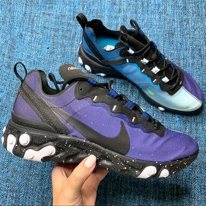 NWOT Nike Element React 55 Day and Night Sneakers